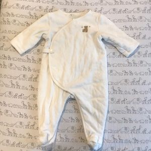 Janie and Jack layette sleep outfit